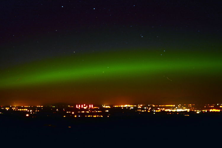 Night Time Night Time Photography Northern Lights Northern Lights Cumbria Northern Lights England Northern Lights Wigton Wigton Aurora Polaris Green Color Natural Phenomenon Night Time Star - Space