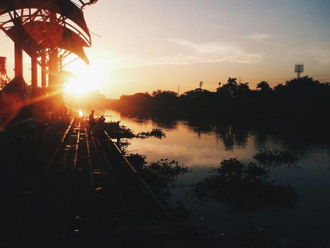 Here's the sunrise. Forsell Sunrise First Eyeem Photo Choosephilippines
