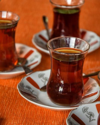 Drink Tea - Hot Drink Ice Tea Drinking Glass Alcohol Mint Tea Table Saucer Liqueur Tray