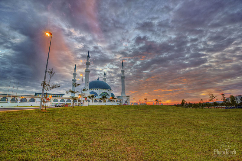 Architecture Cloud - Sky Dome Industry Masjid Dato On Mosque Night No People Outdoors Place Of Worship Sky