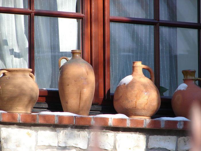 Close-up of vase