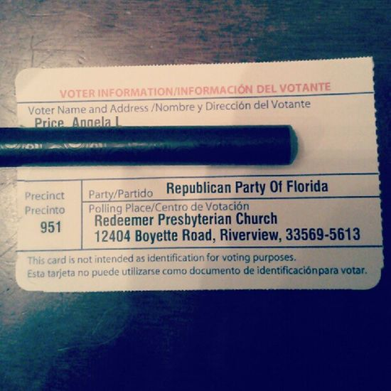 Voting this year biiieeetch! :) Voteordie Romenyryan2012 Republican 2012 yay nobama America fuckyeah