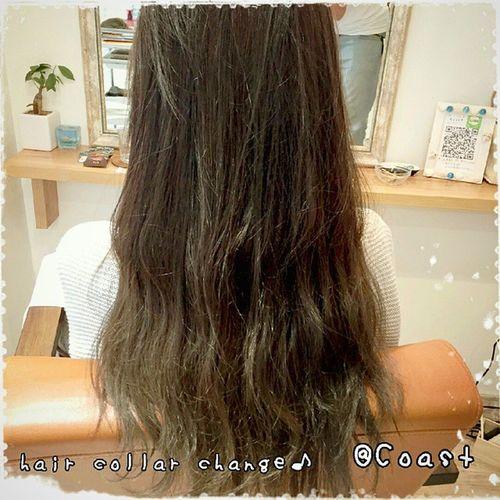hair collar change treatmentも♪ @yuto0128 @mina615 いつもありがとうございます~(*´ω`*) Coastの優人さん いつも素敵に仕上げてくれて感謝です。 次回はcutします~!!! こんなに髪の毛長くなってたのか…(驚) Hair Collar Change アッシュ アッシュベージュ グラデーションカラー Longhair ロングヘアー 福岡 大名 美容室 Coast