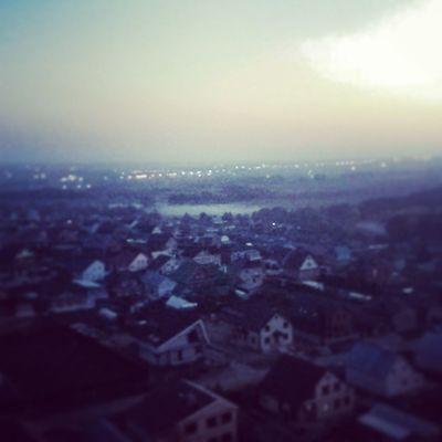Туман застрял между деревьев... 6.00 туман доброеутротатарстан Fog