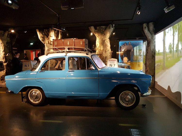 Car Simca Vintage Saint-Tropez Museum Vintage Les Gendarmes A St.Tropez La Gendarmerie De Saint Tropez Car