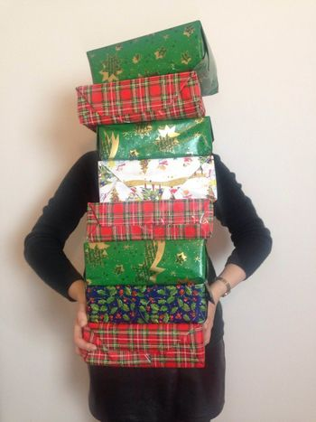 Many Christmas presents Carrying Christmas Christmas Christmas Gifts Christmas Present Gift Gifts Indoors  One Person Stack