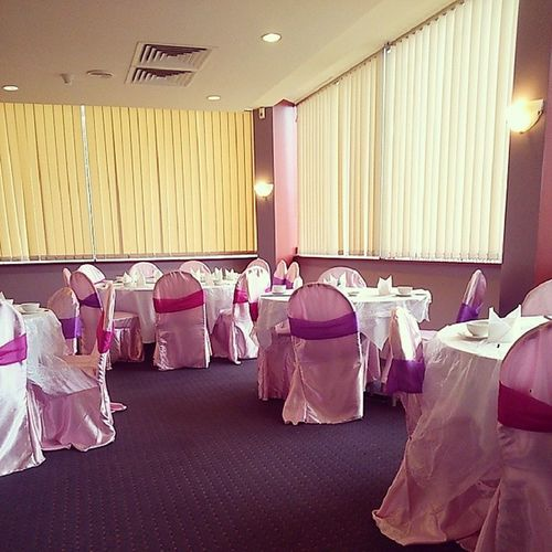 All decked out for a Barbie party... Or just weekend Yumcha /Dimsum ...
