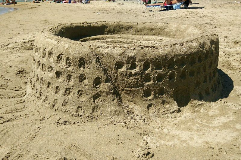 Colosseum Colosseo Beach Beachphotography Beach Day Sunday ThreeHours Passion Myfuture Job Architrcture Photography Architecture EngineeringStudent Beach Tranquility Non-urban Scene Tranquil Scene Outdoors Day Nature Second Acts