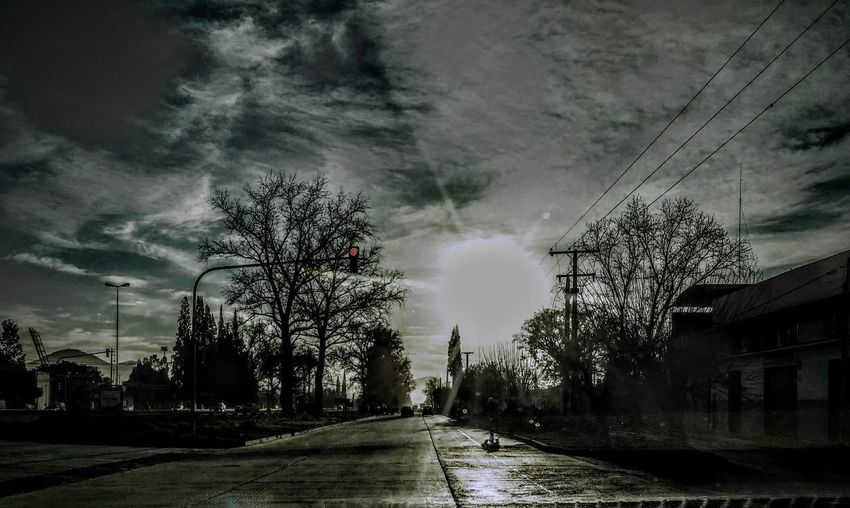 City Cloud - Sky No People Outdoors Residential District Road Sky Street Tree A New Beginning