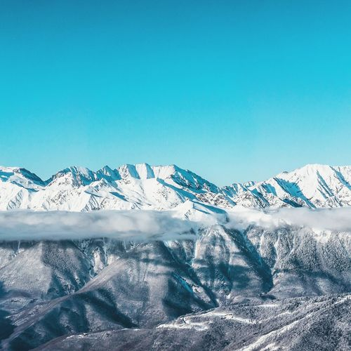 EyeEm Selects Frozen Nature No People Outdoors Travel Photography Travel Destinations Travel Travelingram Sochi Winter Russia Winter_collection Sochi Traveler Cold Temperature Travelphotography Landscape Rosahutor Perspectives On Nature Shades Of Winter