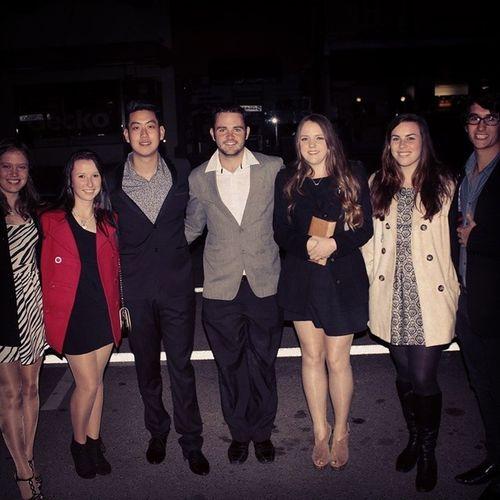 Family/Farewell/Birthday Dinner Friends Uni Life CSU dinner suit dress