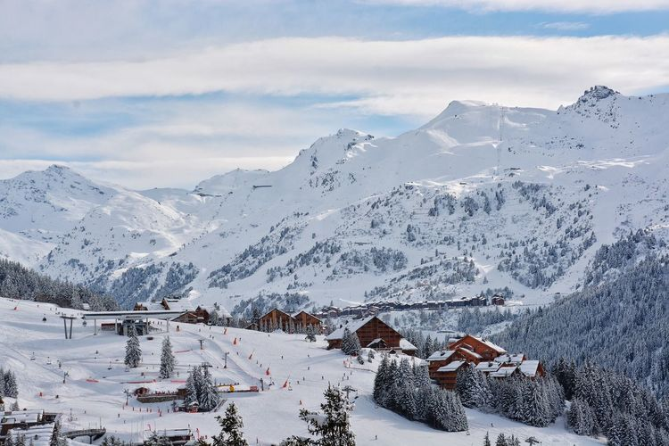 I breath in I breath out and smile. Landscapes With WhiteWall Winter Snow In The Mountains French Alpes French Village Winter In The Snow Small Village Villages With Snow Your Ticket To Europe Lost In The Landscape