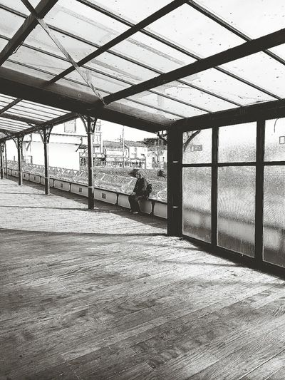 Blackpool Blackandwhite Photography Blackandwhitephotography Black&white Blackpool North Pier Lonely Loneliness