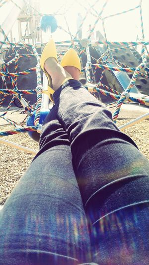 Pumps ♥ Relaxing at the park