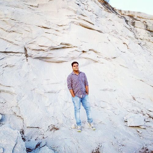 And Now Its  Me Surrounded By  The Beauty Of Nature White Rocks Bangalore SIR MVIT Nature Bliss