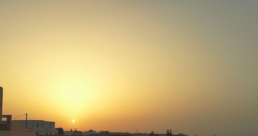 Taking Photos Tunisia Tunisie Gabes Sunrise Sun Paysage Relaxing Hi! Enjoying Life 43 Golden Moments