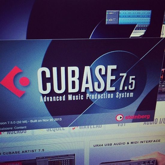 upgraded Cubase Steinberg disclaimer: supporter
