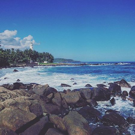 燈塔. Dondra SriLanka Lighthouse Sea beach