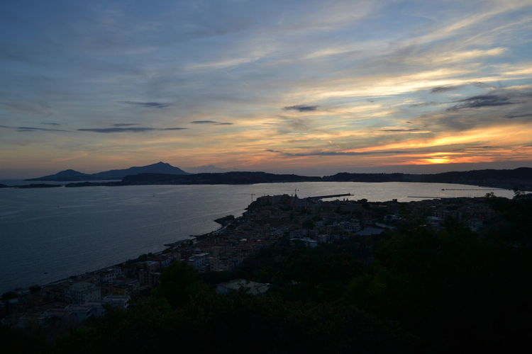 Naples Skyline Sunset_collection View Beauty In Nature Beauty In Nature Campania Campi Flegrei Cloud - Sky Day Horizon Over Water Italy Landscape Mountain Nature No People Outdoors Pozzuoli Scenics Sea Sky Sunset Tranquil Scene Tranquility Water