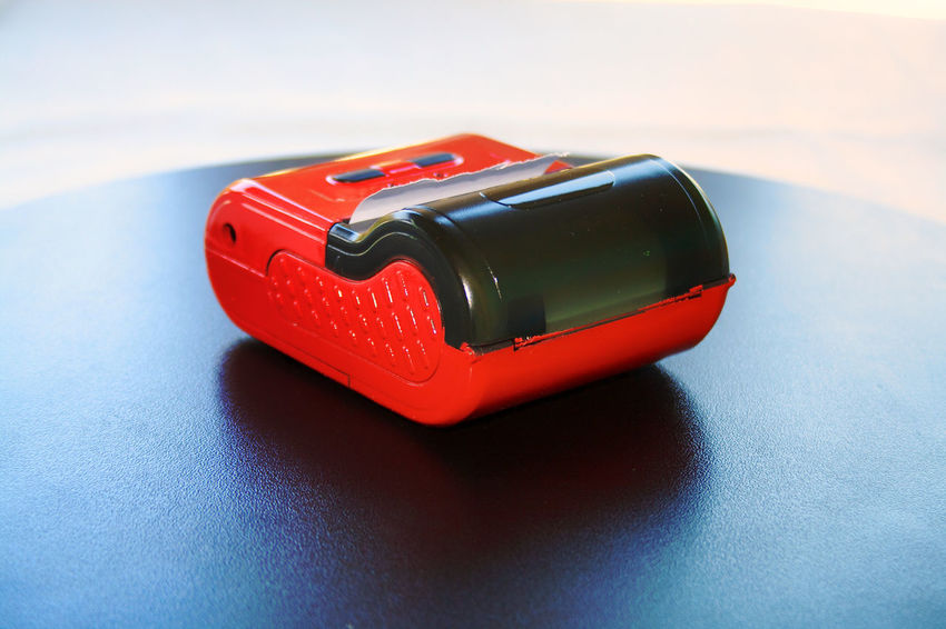 Close-up Electronics  Indoors  Red Color Reflection Technology Thermal Paper Thermal Printer Wireless Communication Wireless Technology Close Up Technology Lieblingsteil