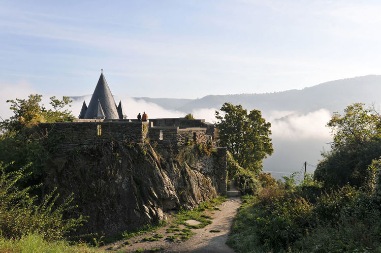 Burg Stahleck bei Bacharach am Rhein Ancient Architecture Bacharach Building Exterior Burg Burg Stahleck Castle Clouds Dust History Nikon 18-200 Nikon D300s River Town Nikon Nikonphotography Landscape