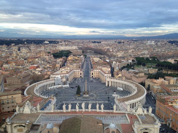 Aerial View Architecture Capital Cities  City City Life Tourism Travel Destinations Vatican City Vaticano
