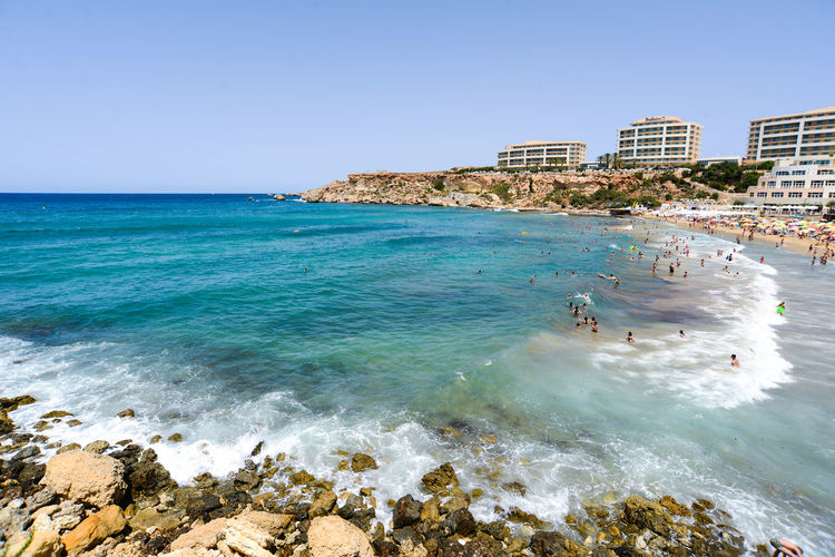 Cactus Hotels Malta Vacations Architecture Beach Beauty In Nature Blue Blue Water Bluse Sea Building Exterior Built Structure Clear Sky Day Golden Bay Horizon Over Water Maltaphotography Maltese Nature No People Outdoors Scenics Sea Sky Sunlight Travel Destinations Tree Troy Turism Water Waterfront Wave Waves