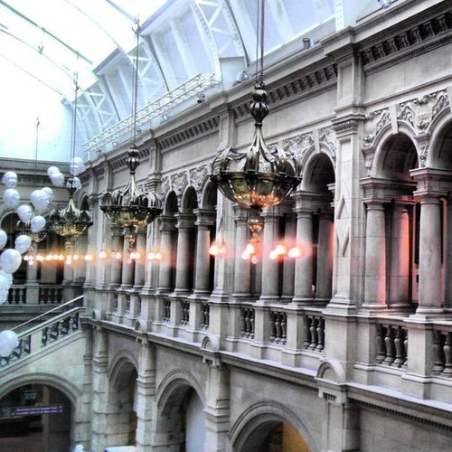 Evo3d Kelvingrove Art Gallery museum corridor lights