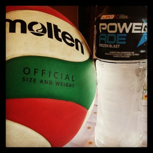 A entrenar se a dicho Agua Congelada Voley Mi pasion♥