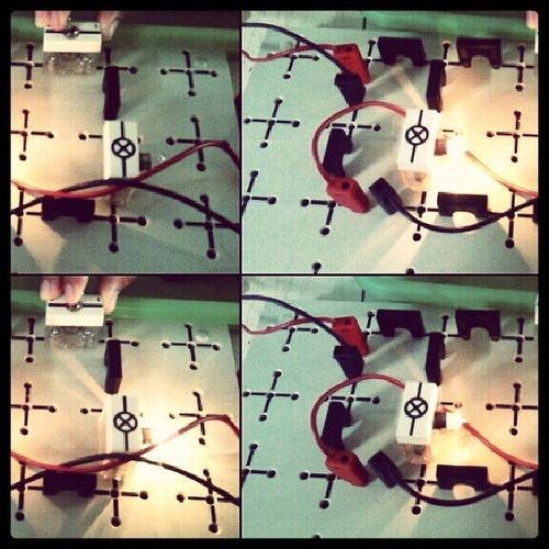 rangkaian seri paralel :33 Ujianpraktek Fisika  Instamood