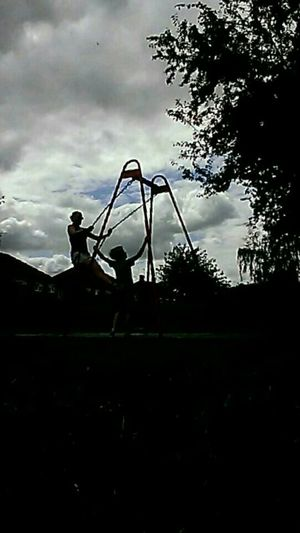 Mum And Son Hanging Out Enjoying Life Real People Popular Photos Relaxation Outdoor Photography Silhouette The Purist (no Edit, No Filter) Leisure Activity Lifestyles