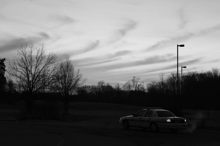 Taken a few months ago as I was heading home after working the midnite shift Shades Of Grey Blackandwhite Photography Blackandwhite B&w B&w Photography ThinBlueLine Pgpd Police