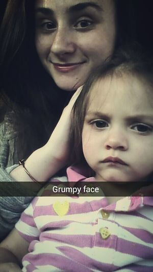 Chillin with my niece today(: Freshness Family❤ Life Journey People Photography Niece 💕 Grumpy Face Hello World Seriousface