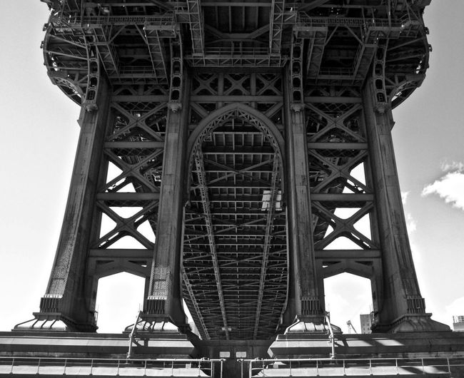 Williamsburg Bridge Engineering Connection Architecture Built Structure Bridge - Man Made Structure Suspension Bridge Tourism Mobility In Mega Cities Colour Your Horizn EyeEmNewHere Stories From The City