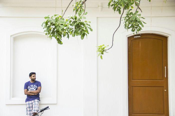 A man on the go EyeEm Best Shots Waiting For A Train Minimalisim Streetindia Incredible India Popular Photos Pondicherry Roc Beach Serene Beautiful Grandeur Portraitist -2016 Popular Photo Pondicherry