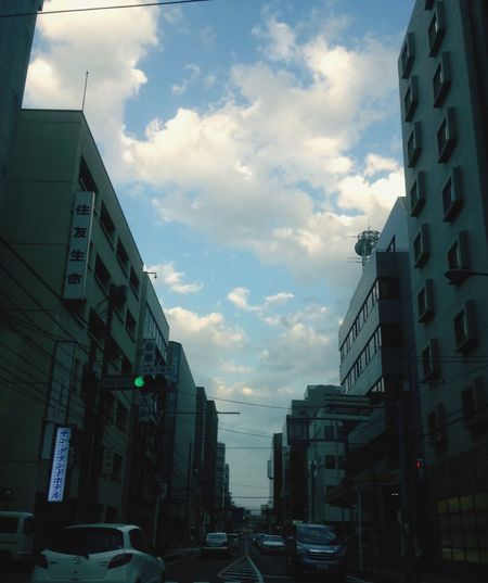 EyeEm Nature Lover Blue Sky Sky Collection Clouds And Sky Sky And City 青空と雲と・・・