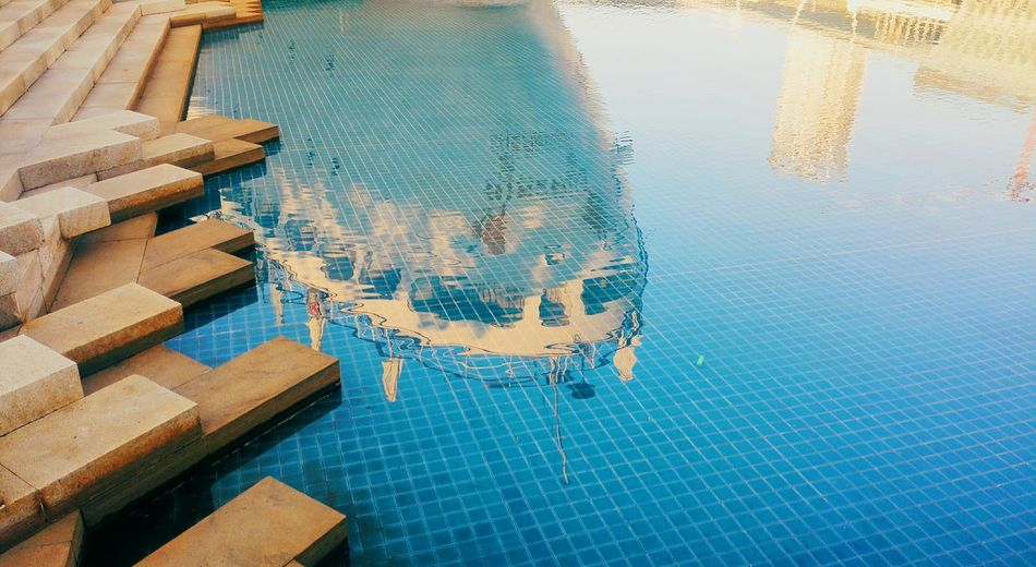 High Angle View Pattern Water Day No People Close-up Swimming Pool Outdoors Backgrounds Refraction Low Section Your Ticket To Europe Investing In Quality Of Life The Week On EyeEm EyeEmNewHere