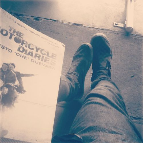 This Book Motorcycle_Diaries Fall In Love IT Inspiring Revalutionary Ernesto_Che_Guevara Instapic Instamadness InstaEdits Insragram  Ibelieve