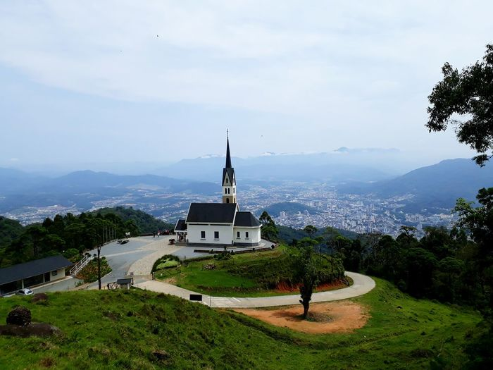 ChiesetaAlpina History Architecture Tranquility No People Tree Day Outdoors Grass Statue Landscape Nature Mountain Water Sky Beauty In Nature Beautiful View Church Politics And Government Been There. Brazil Done That. Taking Pictures Perspectives On Nature