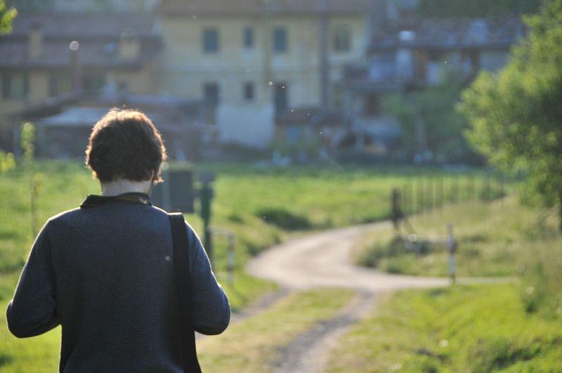 FINDING WAY. Bologna Italy Portrait Nature Alone Nikon