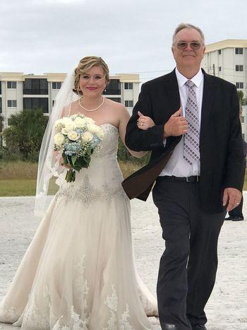 Wedding Bride Wedding Dress Beginnings I Do BRwedding Siesta Key Beach