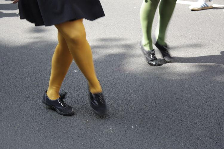 Female Legs Dancing