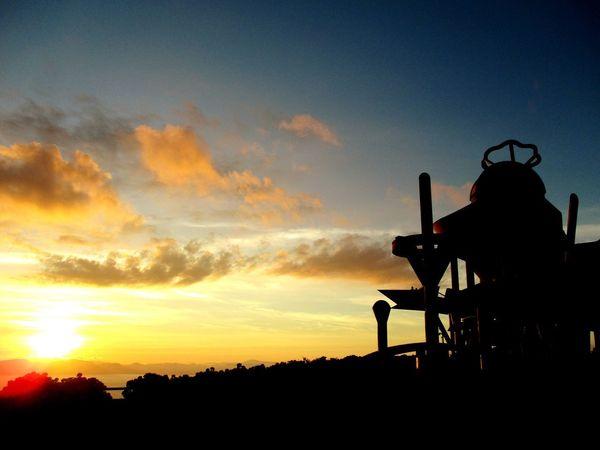 Astronomical observatory and sunset. Sunset Sky Outdoors Silhouette Astronomical Observatory EyeEm Selects Kagoshima Kihoku-cho