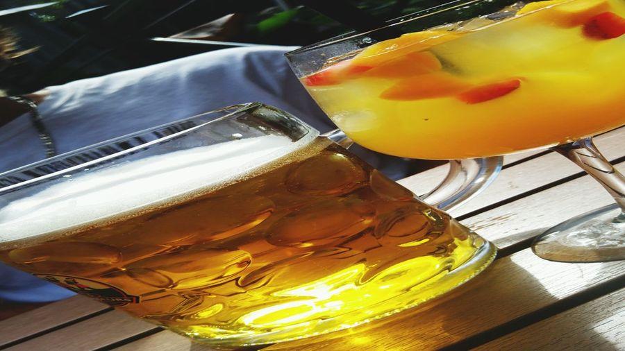 Sangriaandbeer Freshness Summer Cocktail Outdoors Drink BestMoments!. With My Boyfriend <3 3Brasseurs Quebec City