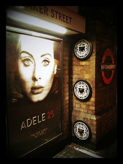 Urban Adele Underground City Scene London