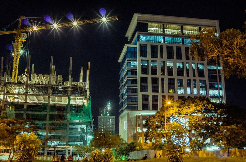 Night crawl Night Illuminated Building Exterior No People Architecture Nightlife City Street Urban