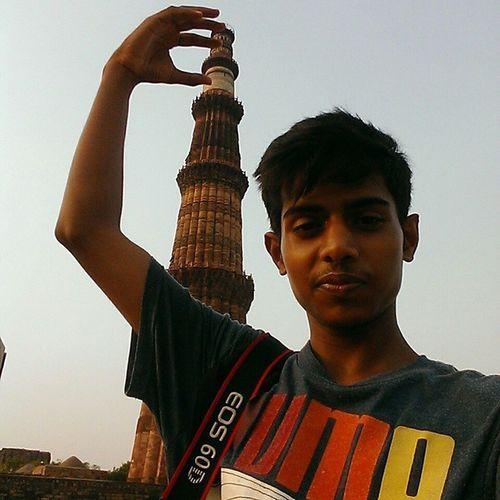 QutubMinar Selfie HTC Htcclick monumentgurgaon delhidiaries delhi