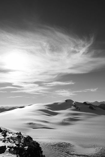 Hiking Ice Mountain View Snow ❄ Adventure Beauty In Nature Blackandwhite Cold Temperature Day Glacier Hikingadventures Monochrome Mountain Mountain Range Nature No People Outdoor Outdoor Photography Outdoors Scenics Sky Skyporn Snow Tranquil Scene Tranquility
