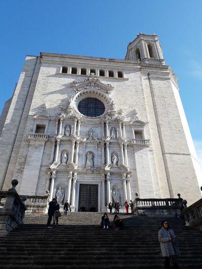 Girona Catalunya Catalonia Catedral Cathedral Barri Vell City