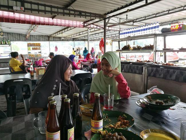 Two People People Friendship Day Freshness Hijabgirl Siblings ♡ Sistersl